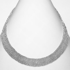 Thin necklace